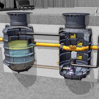 Kessel EasyClean Ground Auto Mix & Pump