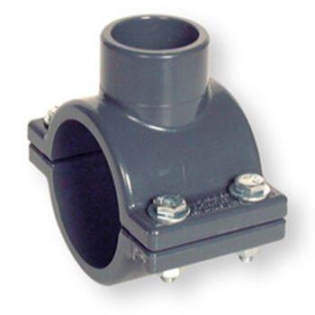 PVCU Clamp Saddle Zinc Plated Hardware