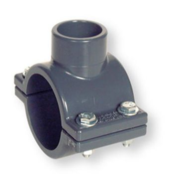 PVCU Clamp Saddle FPM O-Ring