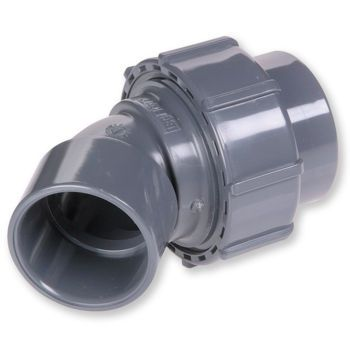 PVCU Flexfit Adaptor Elbow 45 Deg