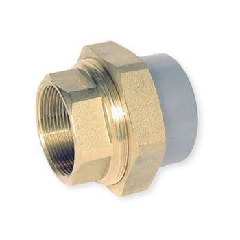 ABS Union Plain Socket x Brass BSP Female Thread