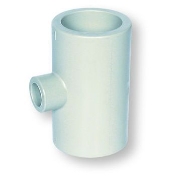 Polypropylene Socket Fusion Reducing Tee 90 Deg