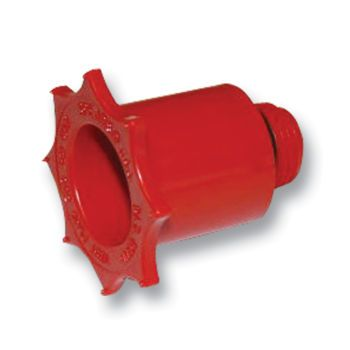 Test Plug - Red HDPE