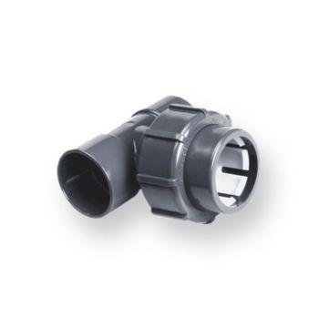 PVCU Flexfit Adaptor Tee 90 Deg