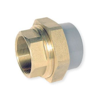ABS Union Plain Socket x Brass BSP Female Thread