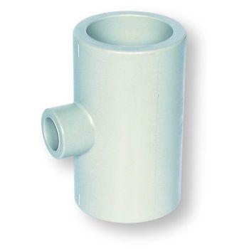 Polypropylene Socket Fusion Reducing Tee 90 Deg