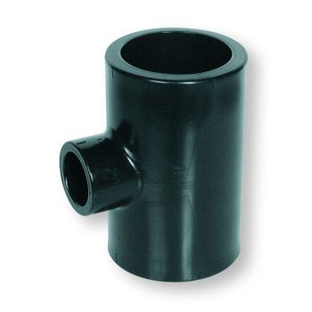 Polyethylene Socket Fusion Reducing Tee 90 Deg