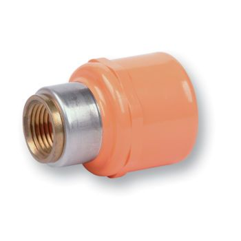 FlameGuard CPVC Sprinkler Adaptor Socket x Metal NPT Female Thread
