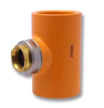FlameGuard TorqueSafe CPVC Sprinkler Tee 90 Deg