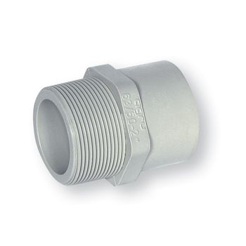 AGRU PURAD PP-Pure Male Adaptor