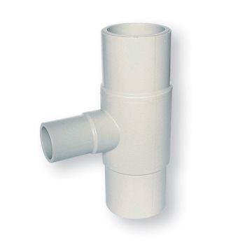 AGRU PURAD PP-Pure Reducing Tee 90 Deg. Elongated