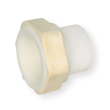 PVDF Female Adaptor BSP Female Thread PN10