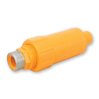 FlameGuard CPVC Adjustable Sprinkler Adaptor Socket x Reinforced NPT Female Thread