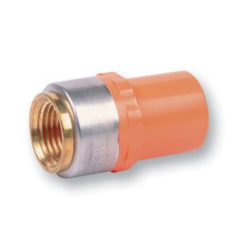 FlameGuard CPVC Sprinkler Adaptor Spigot x Metal NPT Female Thread