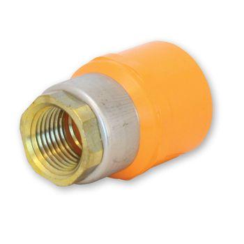 FlameGuard CPVC Sprinkler Adaptor Socket x Metal NPT Female Thread