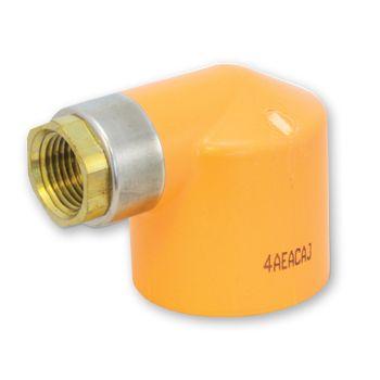 FlameGuard CPVC Sprinkler Elbow 90 Deg Socket x Metal NPT Female Thread