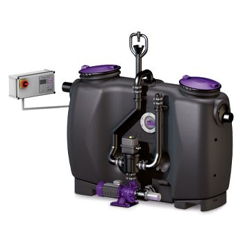 Kessel EasyClean Auto Mix & Pump Grease Separator