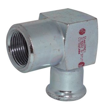 RM Steelpres 90 Deg Adaptor Elbow