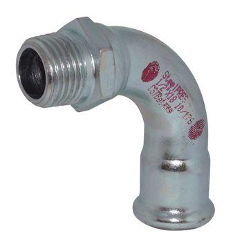 RM Steelpres 90 Deg Elbow