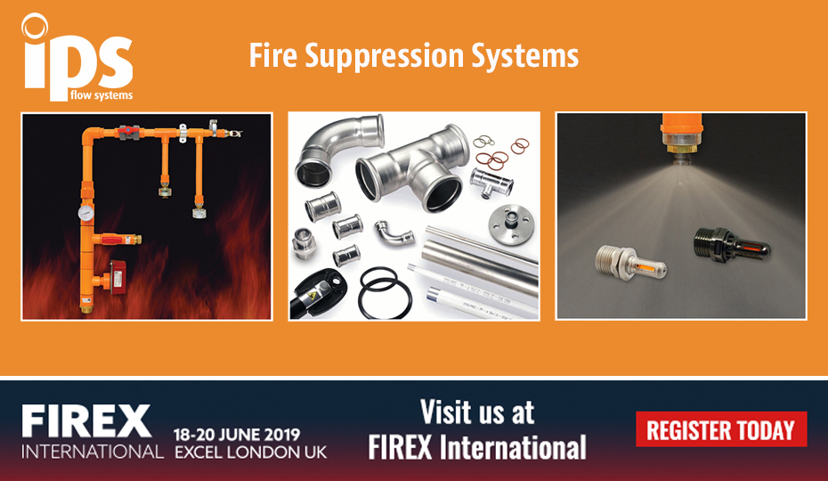 Come and see us at Firex 2019